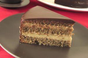 Gateau Chocolat Fondant Aux Noix Et Au Cafe Recette Rapide Et Facile