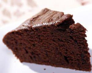 Moelleux au chocolat simple