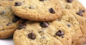 Cookies au pépites de chocolat sans œufs