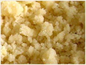Crumble sans beurre