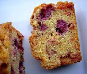 Cake à la framboise