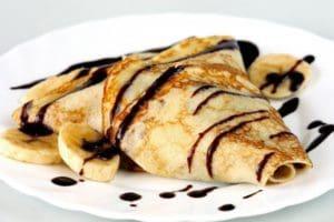 Crêpes aux bananes et au chocolat facile à faire