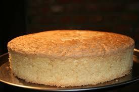 Gâteau de Savoie au citron