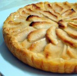 Gâteau aux pommes et au miel